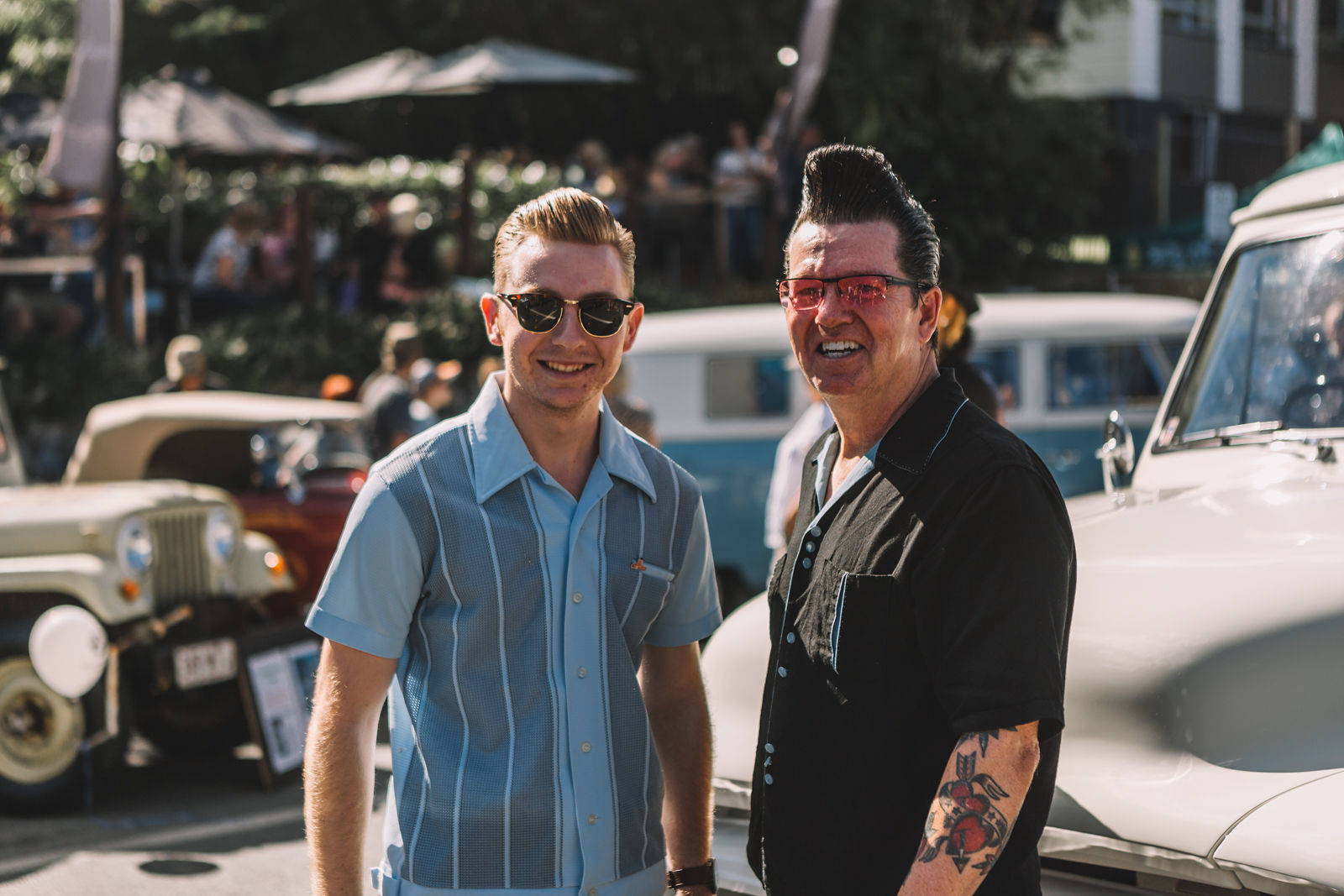 2 rockabilly guys